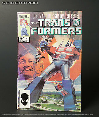 THE TRANSFORMERS #1 1984 Marvel Comics G1 1st Print 181017a