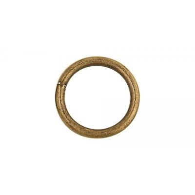 """1909 O Ring 1-1/2"""" (38mm) - Nickel Free - Antique Brass Finish - Pack Of 10"""