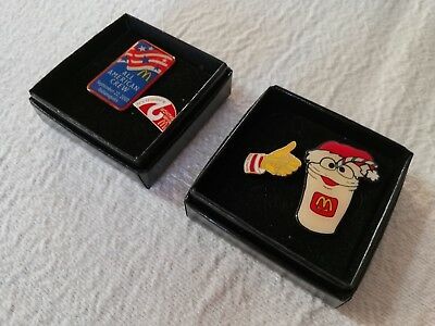 Lot of 4 Vintage McDonalds Service Pins | Fast Free Shipping !!