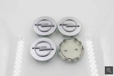 4pcs 58mm Opel Wheel center hub cap emblem Astra Mokka Insignia Zafira Corsa