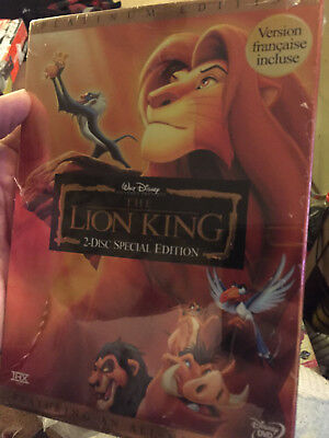 The Lion King (DVD, Disney, 2-Disc Set, Platinum Edition)--new !
