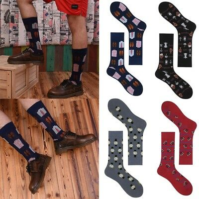 Creative Street Funny Art Harajuku Men Socks Skateboard Hip Hop Novelty Socks.