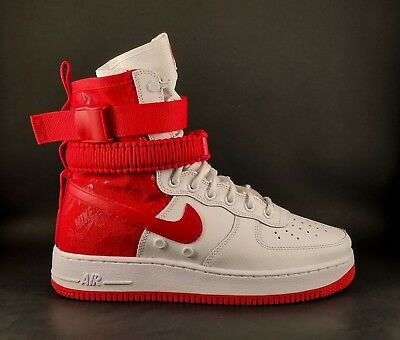 Nike SF-AF1 High Air Force 1 Men's 12 University Red AR1955-100 Special Forces
