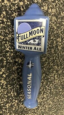 New In Box Full Moon Winter Ale by Blue Moon Tap Handle