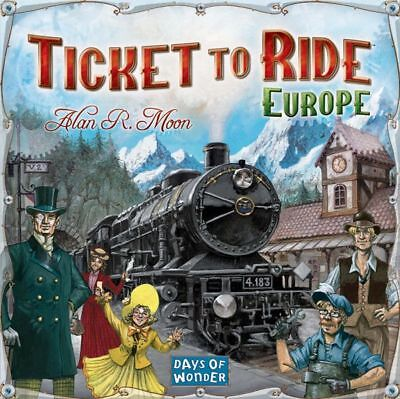 Ticket to Ride: Europe - Days of Wonder- Strategy Board Game