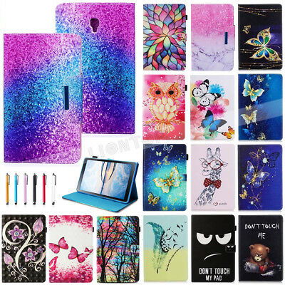 """AU For Samsung Galaxy Tab A S4 A2 A6 7"""" 8"""" 10.1"""" 10.5"""" Smart Leather Cover Case"""
