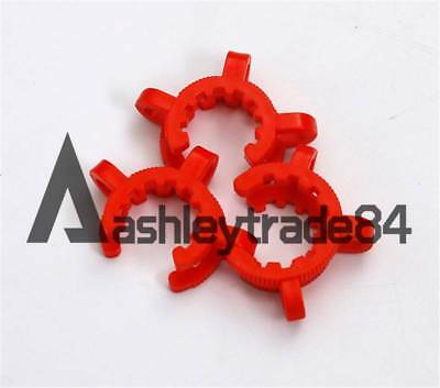 10 Pieces Lot 24# lab plastic keck clamp clips for standard taper joint