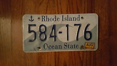 Rhode Island license plate 584-176 used FAST SHIPPING 2008