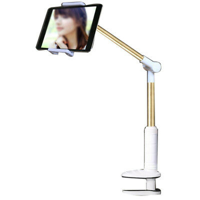 Flexible Lazy Swing Arm Tablet Desk / Car Auto Mount Stand Holder For ipad Phone
