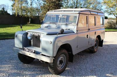 """1959 Land Rover series 11 109"""" Station Wagon Chassis number 30 ,2nd oldest known"""
