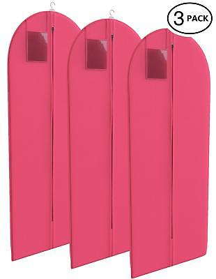 d9930805abef YOUR BAGS FUCHSIA Dress and Gown Garment Travel Bags 3 Pack - 54