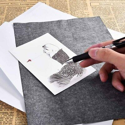 Graphite Transfer Paper - Carbon Tracing Paper For Artists - 25 Sheets