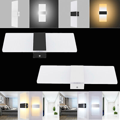 LED Wall Sconce Light Modern 3W 6W 12W Indoor Lamp Corridor Living Room Bedroom