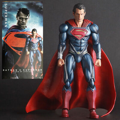 Crazy Toys DC Comic Superman V Batman Collectable 10'' Action Figure Model
