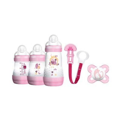 MAM 5-tlg. Starter-Set Welcome to the world 160-260ml, Kunststoff NEU
