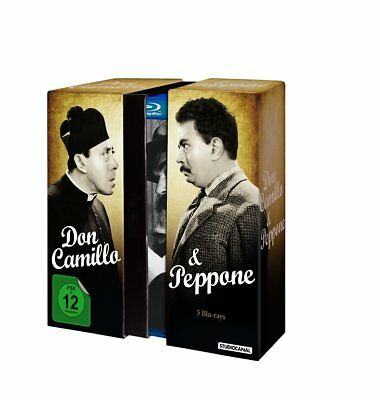 Don Camillo & Peppone Edition [Blu-ray] 5 Filme - 5 Blurays - NEU in Folie (1252