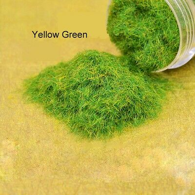 Static Grass for Model Railway  Architecture Scenery Yellow Green Color