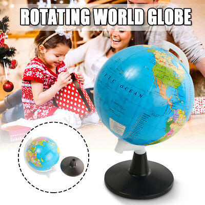 Swivel World Earth Globe Map Stand Geography Kid Children Toy Gift Educational