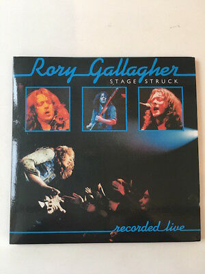 Rory Gallagher - Stage Struck (Recorded Live) CD DIGIPAK - Good Condition