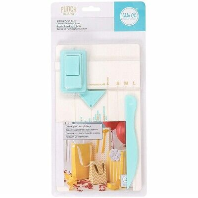 New We R Memory Keepers Gift bag  making Punch Board