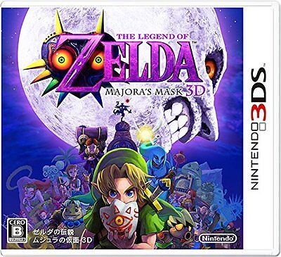 New Nintendo 3DS The Legend of Zelda Majora's Mask NTSC-J From Japan F/S
