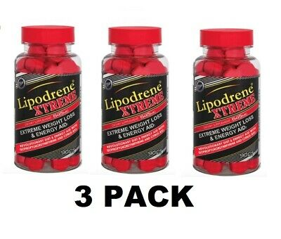 Hi-Tech Lipodrene Xtreme Extreme Fat Burner 90ct 1, 2, or 3 Pack - FAST SHIPPING