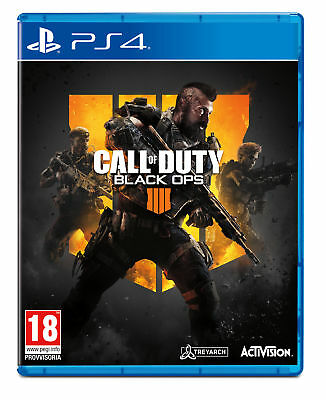 Sony PS4 Call of Duty: Black Ops 4 videogioco Call of Duty: Black Ops 4, Playsta