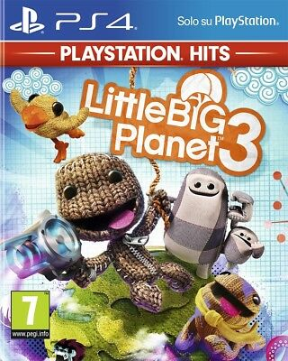 Sony Little Big Planet 3 (Playstation Hits Edition) PS4 PlayStation 4 ITA videog