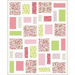 Pepperland Quilt Kit by Abbey Lane Quilts Sweet Pea Flannel by Maywood Studio