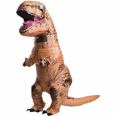 Adult Inflatable T-Rex Dinosaur Costume One Size - Jurassic World * NEW