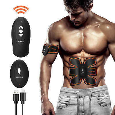 Stimulator Training Smart EMS Fitness Gear Muscle Abdominal Toning Belt Trainer