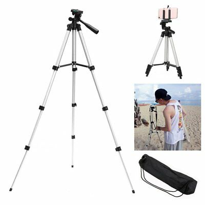 Tripod Stand For Digital Camera Camcorder DSLR SLR Phone iPhone Mount Holder ON