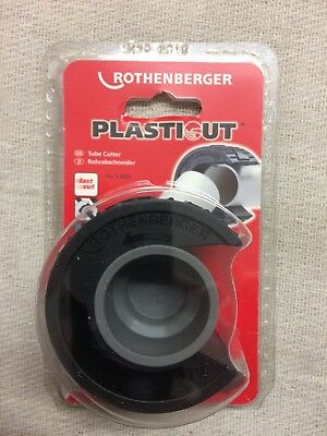 Rothenberger Plasticut Plastic Tube Cutter 35Mm  42Mm Or Twin Pack 5.9035 5.9042