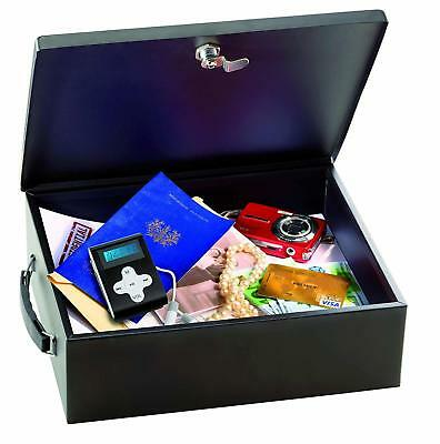 Master Lock Key Lockable Storage Box for Valuable Large Fireproof Security Chest