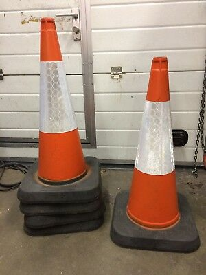 Melba Swintex MPL 1 Piece Traffic Cone 750mm - Used