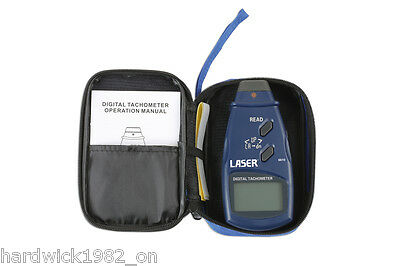 NEW RELEASE! DIGITAL TACHOMETER DETECTING 50-500mm WITH STORAGE CUSTODIA