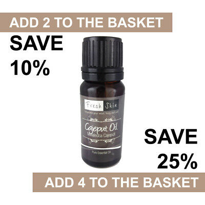 Cajeput Essential Oil 10ml - 100% Pure & Natural Essential Oils - Aromatherapy