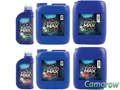 VitaLink - Earth MAX Grow & Bloom - Soil /Compost  Nutrients Hydroponics