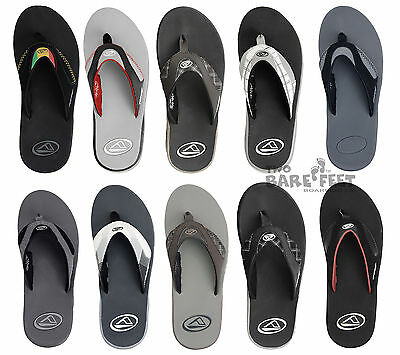 Reef Fanning Mens Flip Flops Sandals - Clearance Sale at Two Bare Feet