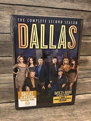 Dallas: The Complete Second 2 Season (DVD, 2014, 4-Disc Set) - Brand NEW Sealed