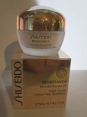 Shiseido Benefiance Wrinkleresist24 Night Cream --50ml