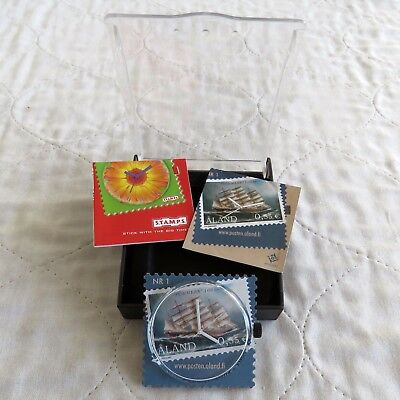 FINLAND ALAND ISLAND STAMP WATCH NUMBER 1 - boxed