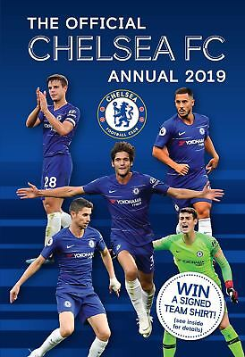 Chelsea FC Official 2019 Annual Brand New Football Book