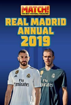 Real Madrid Official 2019 Annual Match! Brand New Football Book