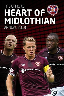 Heart of Midlothian FC Official 2019 Annual Hearts Brand New Football Book