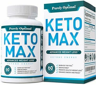 Premium Keto Diet Pills - Advanced Weight Loss - Burn Fat for Energy with Ketosi