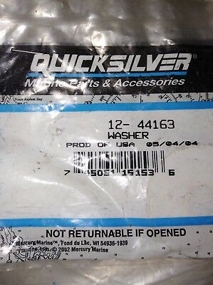Mercury Quicksilver MerCruiser 12-44163 Genuine OEM Bravo Trim Tilt Washer