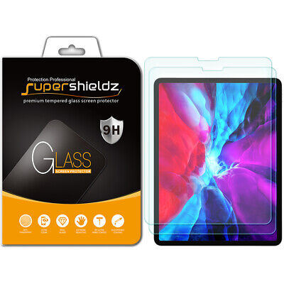 "2x Supershieldz Tempered Glass Screen Protector for Apple iPad Pro 12.9"" (2018)"