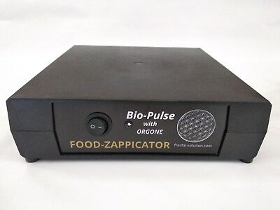 ZAPPER Dr. Hulda Clark Bio-Pulse 1kHz FOOD - ZAPPICATOR with ORGONE