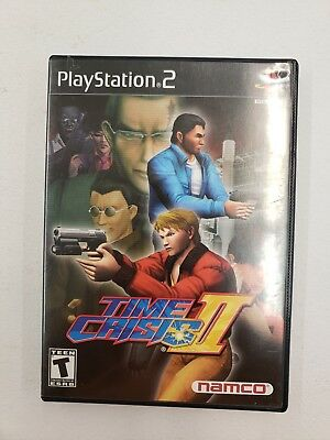 Time Crisis II (Sony PlayStation 2, 2001) FREE FAST SHIPPING